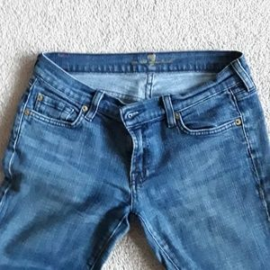 Size 29 flare seven jeans